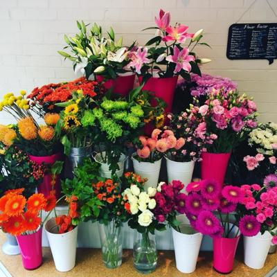 Fresh flowers delivered daily